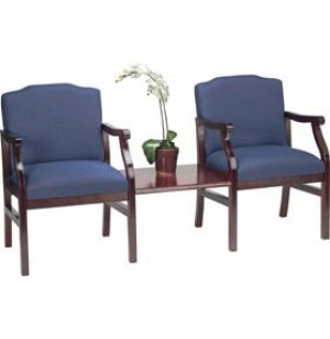 Traditional Chairs Group with Center Table - Grd 3