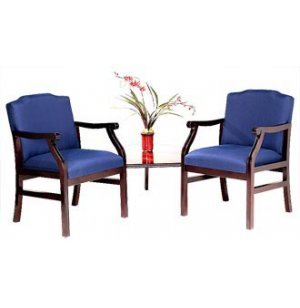 Traditional Chair Group with Corner Table