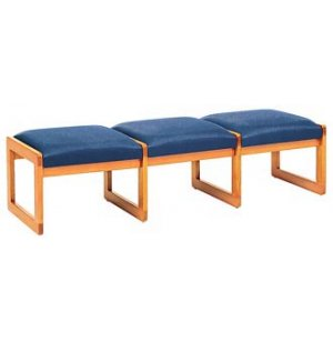 Contour 3-Seat Bench - Upgraded Upholstery