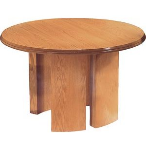 Solid Wood Round Conference Table