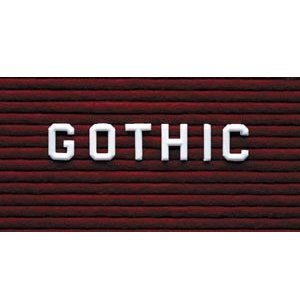 Gothic Style Letters