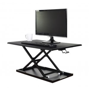 Luxor Level Up 32 Adjustable Standing Desk Converter