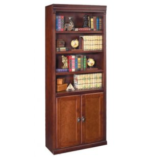 Americana Lower Door Bookcase - Cherry