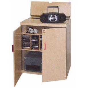 Lock-It-Up Mobile Classroom Audio Listening Center