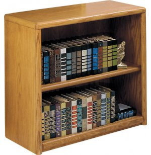 Contemporary Bookcase with 1 Shelf