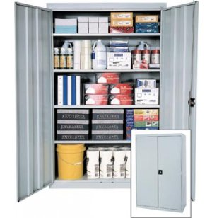 Extra Wide Full Height Storage