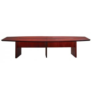 Veneer Boat Shape Conference Table