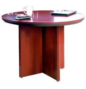 Veneer Round Conference Table