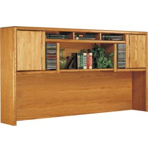 Contemporary Hutch for L-Desk