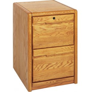 Contemporary 2-Drawer Vertical File Cabinet
