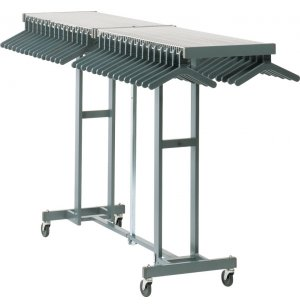 100 Hanger Unit in Charcoal Gray