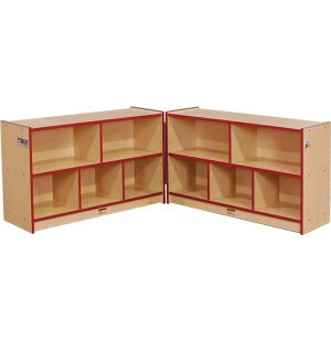 Color Banded Preschool-Size Hinged Unit
