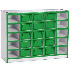 Color Banded Youth-Size 25 Tray  Unit w/Trays