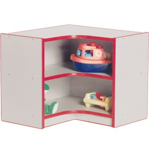 Color Banded Inside Corner Unit - Tot Size