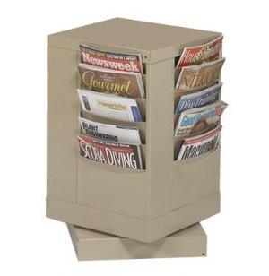 20-Pocket Carousel Literature Organizer