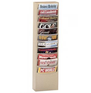 11-Pocket Wall Mounted Literature Organizer