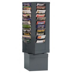 44-Pocket Carousel Literature Organizer