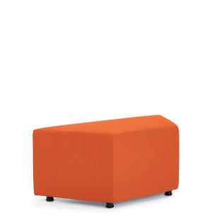 Wedge-Shaped Modular Ottoman Premium Colors