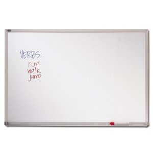 Melamine Whiteboard with Aluminum Frame