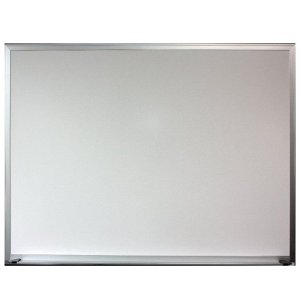 Economy Whiteboard with Aluminum Frame