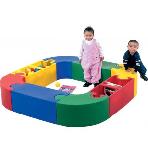 Puzzle Play and Reading Center - 8 Interlocking Pieces
