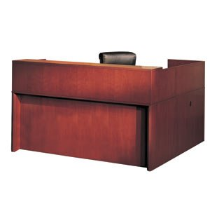 Mayline Reception Left Handed Office Desk