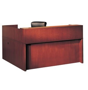 Mayline Reception Right Handed Office Desk