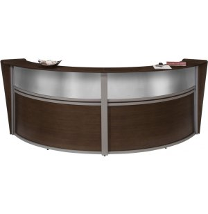 Marque Plexi Double Unit Reception Station