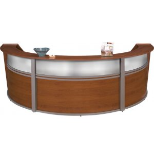 Marque Plexi Triple Unit Reception Station