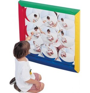 Soft Frame Child Safe Bubble Mirror