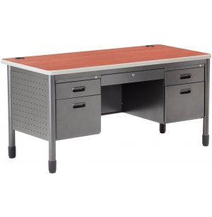 Mesa Double Pedestal Teachers Desk