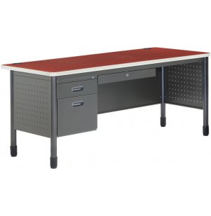 Mesa Single Pedestal Teacher Desk