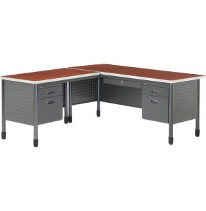 Mesa L-Shaped Desk with Left Return