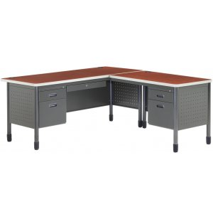 Mesa L-Shaped Desk with Right Return