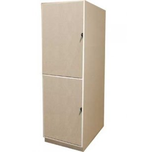 Instrument Locker - 2 Compartments, Solid Doors