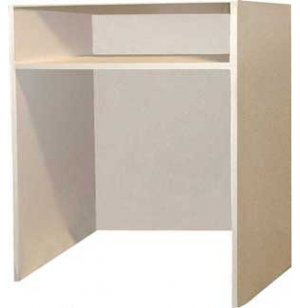 Music Instrument Storage - 1 Open Compartment, 1 Shelf