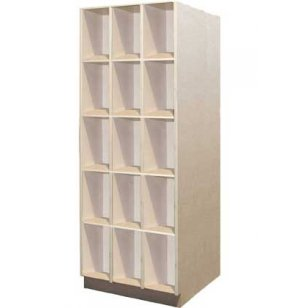 Music Instrument Storage - 15 Open Compartments