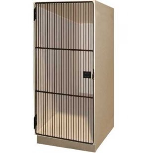 1 Large Compartment Grille Doors