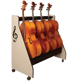 Cello Rack on Casters