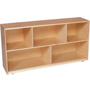 Maple Classroom Cubby Storage