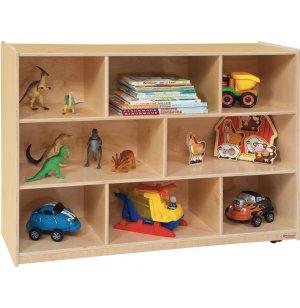 Maple Classroom Cubby Storage