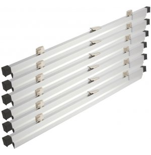 42in. Clamps (6 pkg) for Vertical Hanging Files