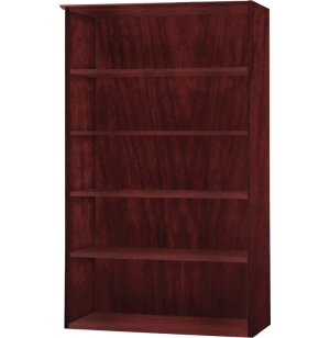 Medina Office Bookcase with 4 Shelves