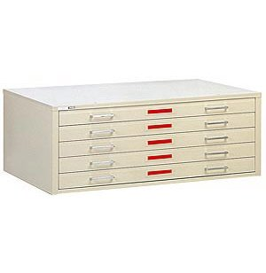 5-Drawer Flat File for 30 x 42 Sheets