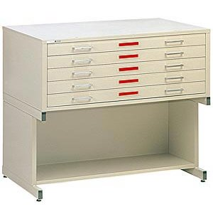5-Drawer Flat File for 36 x 48 Sheets