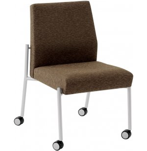 Mystic Stacking Guest Chair with Casters