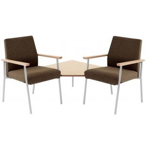 Mystic 2-Seater with Connecting Corner Table