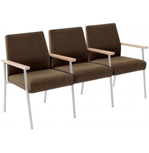 Mystic 3-Seat Sofa with Center Arms