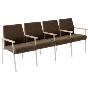 Mystic 4-Seat Sofa with Center Arms