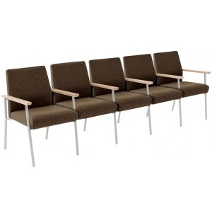 Mystic 5-Seat Sofa with Center Arms